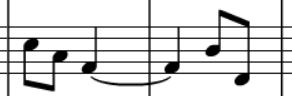 Tonal answer in G minor: ii-dim
